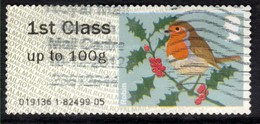 GB 2012 QE2 1st Up To 100gms Post & Go Christmas Robin ( M933 ) - Great Britain