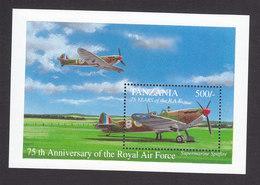 Tanzania, Scott #1086, Mint Never Hinged, Plane, Issued 1993 - Tanzania (1964-...)