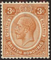 British Honduras Scott #95, 1933, Hinged - British Honduras (...-1970)
