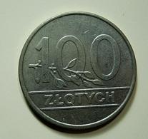Poland 100 Zlotych 1990 - Pologne