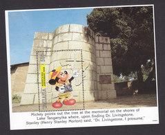 Tanzania, Scott #1127, Mint Never Hinged, Disney Travel, Issued 1994 - Tanzanie (1964-...)