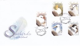 NORFOLK ISLAND 2005 Seabirds FDC - Norfolk Island