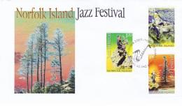 NORFOLK ISLAND 2005 Jazz Festival FDC - Ile Norfolk