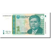 Billet, Tajikistan, 1 Somoni, 1995 (2000), KM:14A, NEUF - Tadjikistan