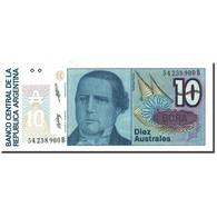 Billet, Argentine, 10 Australes, 1985-1991, Undated (1985-1989), KM:325b, SPL - Argentine