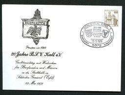Bund PU114 D2/020 Privat-Umschlag BRIEFKASTEN PREUSSEN 1865 Sost.Schleiden1979 - Post