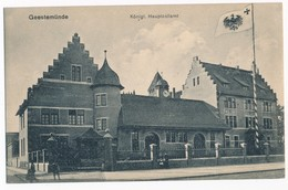 Geestemünde - Königl. Hauptzollamt, 1917. - Bremerhaven