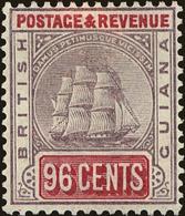 British Guiana Scott #147, 1889, Hinged - British Guiana (...-1966)