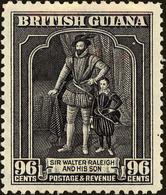 British Guiana Scott #221, 1934, Hinged - British Guiana (...-1966)