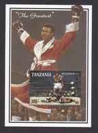 Tanzania, Scott #1080, Mint Never Hinged, Muhammed Ali, Issued 1993 - Tanzanie (1964-...)