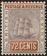 British Guiana Scott #146, 1889, Hinged - British Guiana (...-1966)