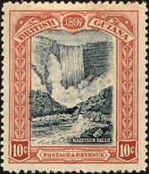 British Guiana Scott #155, 1898, Hinged - British Guiana (...-1966)