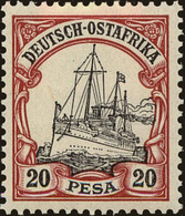 German East Africa Scott #16, 1900, Never Hinged - Colony: German East Africa