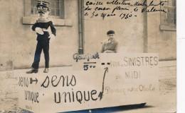H96 - 26 - VALENCE - Drôme - Carte Photo - Caisse Collective Ambulante Du Corso Fleuri Le 30 Mars 1930 - Valence