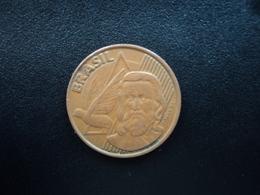 BRÉSIL : 5 CENTAVOS  1998   KM 648   TTB - Brésil