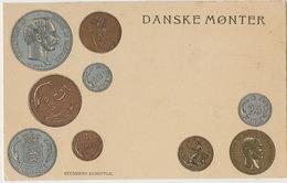 Danske Monter Monnaies Danoises Gold And Silver Danish Coins King - Denmark