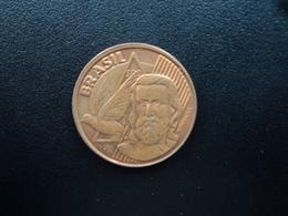 BRÉSIL : 5 CENTAVOS  2002   KM 648    SUP - Brésil