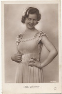 Real Photo Miss Danmark Old Postcard Very Pretty - Denmark