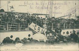 AK Antwerpen, Bij Het Vertrekken Naar Congo, O 1906 (30034) - Antwerpen