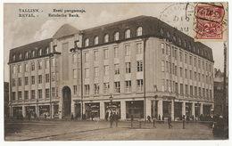 Tallinn Reval Estische Bank Postally Used To Santa Clara Cuba Artificiana Esperanto Club - Estonia