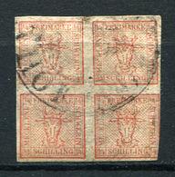19334) MECKLENBURG-SCHWERIN # 1 3/4 Gestempelt Aus 1856, 80.- € - Mecklenburg-Schwerin