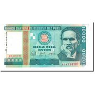 Billet, Pérou, 10,000 Intis, 1988, 1988-06-28, KM:141, NEUF - Pérou