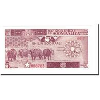 Billet, Somalie, 5 Shilin = 5 Shillings, 1983-1987, 1987, KM:31c, NEUF - Somalia