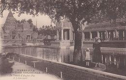 Cp , 13 , MARSEILLE , Exposition Coloniale 1922 , Le Temple D'Angkor-Vat Et Le Lac Sacré - Expositions Coloniales 1906 - 1922