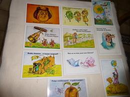 LOT DE 10 ILLUSTRATIONS ..SIGNE H. BALAVOINE - Cartes Postales