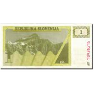 Billet, Slovénie, 1 (Tolar), 1990-1992, 1990, KM:1a, SUP - Slovenia