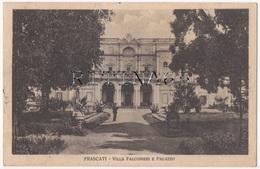 RM101 !!! FRASCATI VILLA FALCONIERI E PALAZZO 1933 F.P. !!! - Italia