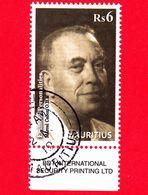 Nuovo Oblit. - MAURITIUS - 2012 - Personalità - Marcel Cabon - 6 - Mauritius (1968-...)