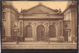 5986 . LILLE . HOTEL DE LA CAISSE D EPARGNE . 34 RUE NICOLAS LEBLANC. (recto Verso) - Lille