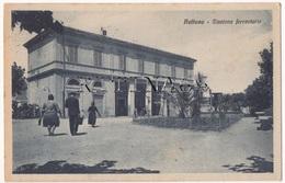 RM107 !!! NETTUNO STAZIONE FERROVIARIA ANIMATA 1933 F.P. !!! - Altre Città