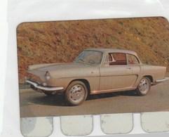 """PLAQUETTE COLLECTION """"L'AUTO  TRAVERS LES AGES"""" OFFERTE PAR COOP -RENAULT """"CARAVELLE"""" 1964 - Automotive"""