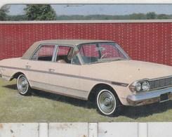 """PLAQUETTE COLLECTION """"L'AUTO  TRAVERS LES AGES"""" OFFERTE PAR COOP -RAMBLER """"AMBASSADOR"""" 1964 - Automotive"""