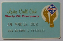 USA - Ladies Credit Card - Skelly Oil Company - Used - R - Geldkarten (Ablauf Min. 10 Jahre)
