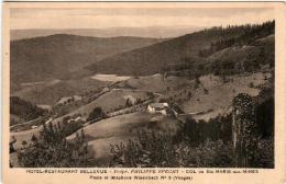 3.1 SL 542 CPA - HOTEL RESTAURANT BELLEVUE - Col De Ste MARIE Aux MINES - Propr. PHILIPPE SPECHT - Sainte-Marie-aux-Mines