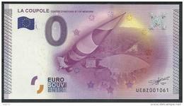 Billet Touristique  0 Euro 2015 La Coupole De Saint Omer - EURO