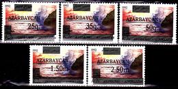 Azerbaïdjan  78 / 82  Paysages Surchargés Non émis - Azerbaïdjan