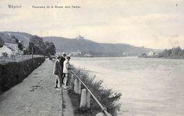 Wépion - Panorama De La Meuse Vers Namur (animée, Pêche) - Namur