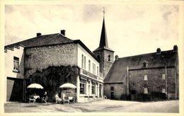 Berzée - Hôtel Notre-Dame De Grâce, L'Eglise Et Le Presbytère (animée Café) - Walcourt
