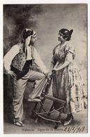 Espagne --VALENCIA --1908--Tipos De La Huerta (coiffe ,costume)  N° ???  éd  ???? --cachets-timbre - Valencia