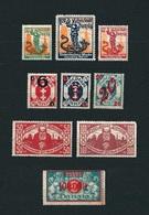 DANZIG 1921-23 - Selezione Di 4 Serie (9 Valori) - MH - Michel DA 90-93 /106-108/ 131-32 / 150 - Dantzig