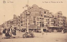 LA PANNE                                     La Digue Et L'avenue De La Mer                          Timbree - De Panne