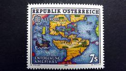 Österreich 2062 **/mnh, EUROPA/CEPT 1992, 500. Jahrestag Der Entdeckung Von Amerika - 1991-00 Unused Stamps