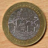 France 10 Ecus 1995 Bimétallique   Vaison-la-Romaine  Xvème Choralies - Euros Of The Cities