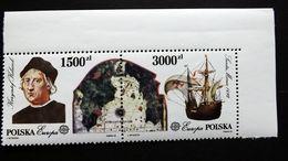 Polen 3377/8 **/mnh, EUROPA/CEPT 1992, 500. Jahrestag Der Entdeckung Von Amerika - Neufs