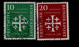 Bund 235 - 236 Kirchentag Gestempelt / Used / Oblitéré (3) - [7] West-Duitsland
