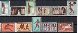 GRECIA 1960 - ROMA 1960 GIOCHI OLIMPICI - SERIE COMPLETA - MNH ** - Grecia